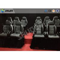 Wholesale Thrilling 5D Movie Theater Motion Cienma Luxury Black Movement Chairs from china suppliers