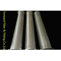 Wholesale Round Hole Center Perforated Aluminum Tube / Perforated Titanium Tube from china suppliers
