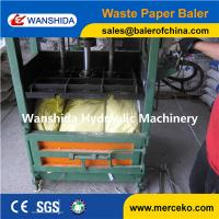 Wholesale Vertical Waste Paper Baler from china suppliers