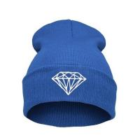 Wholesale Casual Warm Winter Knit Caps For Men Embroidered , Knitted Beanie Hats from china suppliers