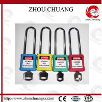 Wholesale 76mm Long Shackle Security Wholesale Door Xenoy Safety Padlock with More Color from china suppliers