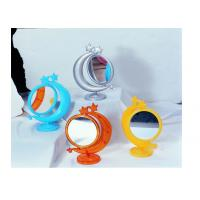 Wholesale 2X Moon Shape Cosmetic Magnify Plastic Mirror XJ-92273 from china suppliers
