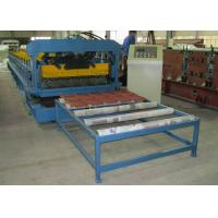 Wholesale Steel Roof Tile And Wall Panel Roofing Sheet Forming Machine 6.5KW from china suppliers