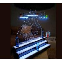 Wholesale Liquor Bottle Display , Series Display Back Bar Bottle Display Edge Lit Logo Panel from china suppliers