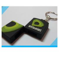 Wholesale fashion custom soft PVC USB flash drive with keychain from china suppliers