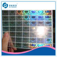 Wholesale Custom Hologram Stickers For Supermarket , Waterproof Laser Printer Labels from china suppliers