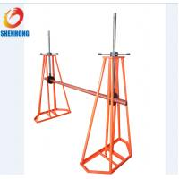 Wholesale ISO Underground Cable Installation ToolsReel Payout Stand for Power Construction from china suppliers