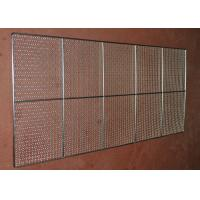 Wholesale Food Grade Wire Mesh Tray , Wire Basket Cable Tray For Oven Food Processing from china suppliers
