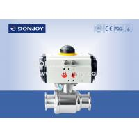 Wholesale Horizontal straight way Pnuematic  ball valve with thread Connection from china suppliers