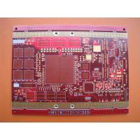 Wholesale Red Solder Mask Immersion Gold 20 Layer PCB Prototype Boards for Industrial Control from china suppliers