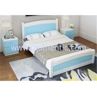 Wholesale Modern Apperance King Size Pine Bed , Single Wooden Frame Beds With Drawers from china suppliers
