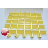Wholesale Aluminum pyramid grille ceiling-- high shaped from china suppliers