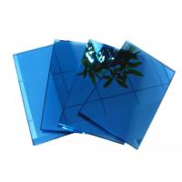 Wholesale 6mm 8mm 10mm Ford Blue Solar Reflective Glass / Coated Glass For Building from china suppliers