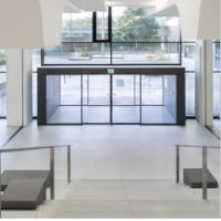 Wholesale Stainless Steel Frame auto sliding glass door from china suppliers