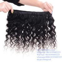 Wholesale Double Weft Long Lasting  Hair Brazilian Virgin Hair Kinky Curly Braiding Hair from china suppliers