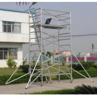 Wholesale Adjustable Lightweight Aluminium Mobile Scaffold / Roof Scaffold For Cleaning Window from china suppliers