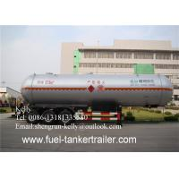 Wholesale 49600 Liters Volume LPG Tank Truck Semi Trailer For Propane Delivery from china suppliers
