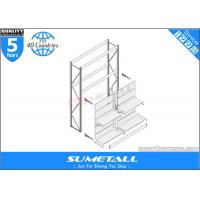 Wholesale Integrated System Commercial Shop Display Shelf With Storage Racking from china suppliers