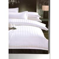 Wholesale Single Duvet Cover Luxury Hotel Bed Linen Satin Stripe For Wellness from china suppliers