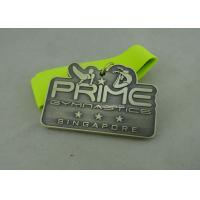 Wholesale 3.0 Inch Sports Die Cast Medals Zinc Alloy 3D With Antique Silver Plating from china suppliers