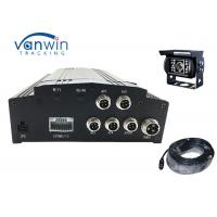Wholesale H.264 Vehicle Mobile Dvr Kit 4ch Car Dvr Camera System With 3g Gps Wifi from china suppliers