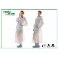 Wholesale Waterproof Transparent Disposable Exam Gowns Outdoor For Adult , 0.017mm Thickness from china suppliers