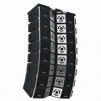 Wholesale Dual 12 Inches Professional Line Array Speaker with 40Hz to19kHz Flat Frequency Response from china suppliers