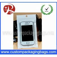 Wholesale Mobile Phone​ Plastic Hanger Bags Packaging Heat sealed with Zipper from china suppliers