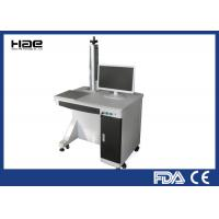Wholesale Table Type Fiber Laser Marking Machine 0 - 100KHZ For Fine / Precision Marking from china suppliers