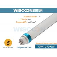 Wholesale 12 Wattage 3 Feet Led Tube Light T5 120 Lm/W Efficiency For Home , 85-265V/AC from china suppliers
