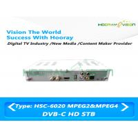 Wholesale 1080P Set Top Box DVB C HD Digital TV Decoder For Encrypted Channels from china suppliers