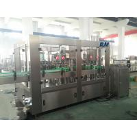 Wholesale Juice Milk filling and aluminum foil cutting and sealing machine HDPE PP bottle from china suppliers