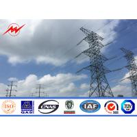 Wholesale SGS Approval Electrical Power Pole Galvanized Steel transmission line poles Gr65 from china suppliers