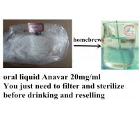 Wholesale High Purity Natural Anabolic Steroids , Anavar 20mg/Ml For Bodybuilder from china suppliers