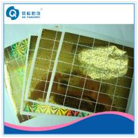 Wholesale Laser Hologram Sticker For Mobile Phone , Stationery Anti Tamper Stickers from china suppliers