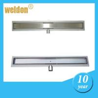 Wholesale Long Stainless Steel Shower Drain Ultimate Linear Floor Drain for bathroom floor from china suppliers