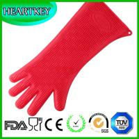 Heat resistant silicone oven gloves- best oven grill gloves, great for cooking, boiling-water proof