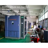 Wholesale Programmable High Low Temperature Test Chamber For Air Pressure Testing from china suppliers