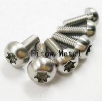 Buy cheap Titanium / Aluminum Torx Head Bolts . Torx Head Bolts Titanium Grade 5 (Ti-6A14V) from wholesalers
