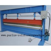 Wholesale Slitter Hydraulic Bending Machine with Color Steel Panel , Steel Pipe / Tube Bender from china suppliers