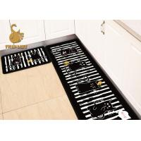 Wholesale Swanlake Customized Color Size Washable Kitchen Rugs With Rubber Backing from china suppliers