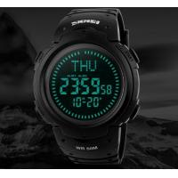 Wholesale 2017 SKMEI Outdoor Sports Compass Watches Hiking Men  Digital LED Watch Man Sports Watches Chronograph Watch   1231 from china suppliers