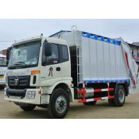 Wholesale factory sale best price FOTON 4*2 compression garbage truck, 2017s new FOTON  4*2 LHD compacted garbage truck for sale from china suppliers