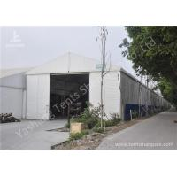 Wholesale 8X60M Waterproof Aluminum outside storage tent Structure hard rolling shutter door from china suppliers