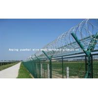 Quality Sun Resistant Razor Barbed Wire Fence , Pvc Coated Welded Wire Mesh Panels for sale