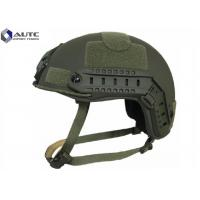 Wholesale Aramid Tactical Bump Helmet , Military Kevlar Helmet Moisture Proof from china suppliers