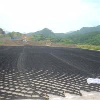 Wholesale 150mm height textured surface HDPE Geomallas system for roadbed, retaining wall slope protection from china suppliers