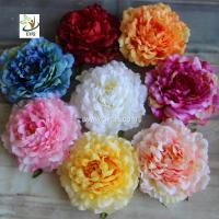 Wholesale UVG wholesale silk flowers in individual artificial penoy for floral wall backdrop arrangements FPN113 from china suppliers