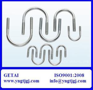 China M18 Galvanized Steel U-Bolt Specification on sale