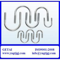 China M18 Galvanized Steel U-Bolt Specification on sale